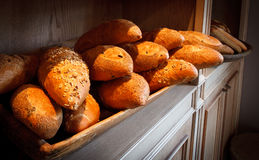 French breads stock photography