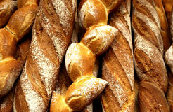 French breads Royalty Free Stock Photo