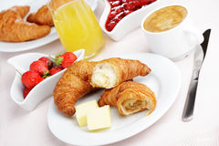 French breakfast royalty free stock photos
