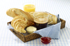 French breakfast. Food , drinks, beverages,cookery Stock Photo