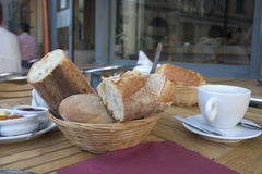 French breakfast. At morning Stock Photo