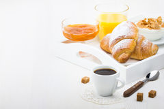 French Breakfast Stock Images