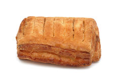French breakfast pastry, isolated royalty free stock image