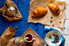 French breakfast Royalty Free Stock Photography
