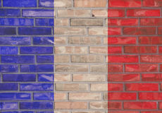 French brick wall Royalty Free Stock Photography