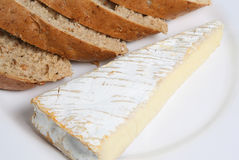French Brie Royalty Free Stock Image