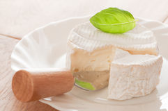 French Brie  Cheese Stock Images