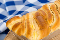 French Brioche bread Royalty Free Stock Images
