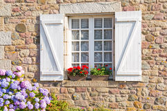 Free French Brittany Typical House Royalty Free Stock Images - 33003529