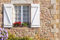 French Brittany typical house Stock Image