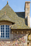 French Brittany typical house Royalty Free Stock Photography