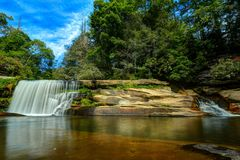 French Broad Falls Royalty Free Stock Image