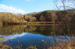 French Broad River Stock Photography