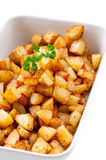 French Browned Potatoes Royalty Free Stock Photo