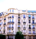 French Building. The beauty and openness of a condominium building in France Stock Photos