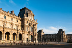 French Building at Louvre Stock Photography