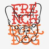 French Bulldog Graphics For Tee Print t shirt Typographic Design Vector Media