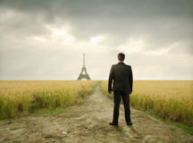 French business Royalty Free Stock Photos