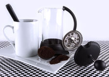 French Cafetiere Stock Photos