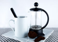 French Cafetiere Royalty Free Stock Image