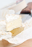 French Camembert Cheese Royalty Free Stock Photo