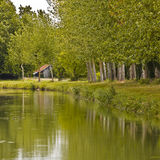 French canal Royalty Free Stock Photos