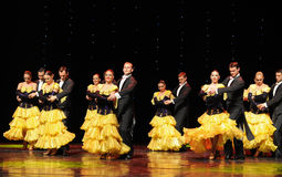 The French Cancan-the Austria's world Dance Stock Photography