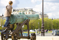French cannon Stock Photo