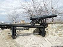 French Cannon, Quebec city Stock Images