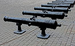 French cannons Stock Photos