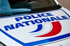 French car of police Stock Photo