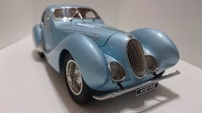 Talbot Lago model car in display Stock Photography