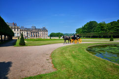 French carriage Royalty Free Stock Images