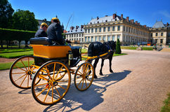 French carriage Stock Images