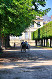 French carriage Royalty Free Stock Photography