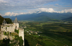French castle. Near Annecy Stock Images