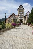 French Castle. In Bukit Tinggi, Malaysia Royalty Free Stock Images