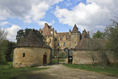 French Castle Stock Image