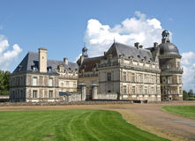 The French castle. Transformed into a museum Stock Photo
