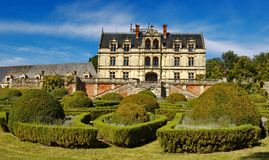 French castle Royalty Free Stock Photography