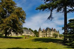 French castle Royalty Free Stock Photos