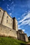 Castle of Villebois-Lavalette, France Stock Image
