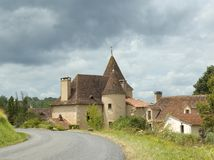 French Castle cottage Stock Photography