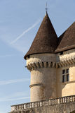 French castle Royalty Free Stock Image