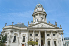 French Cathedral in Berlin Stock Image