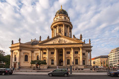 French cathedral - Berlin Stock Image