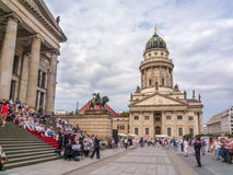 French cathedral - Berlin Stock Photography
