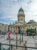 French cathedral - Berlin Stock Images