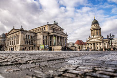 French Cathedral in Berlin Royalty Free Stock Images