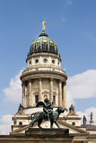 French Cathedral at Gendarmenmarkt in Berlin Royalty Free Stock Photo